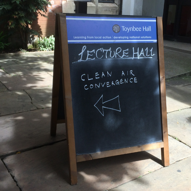 Clean Air Convergence on Saturday 4 July at Toynbee Hall, London
