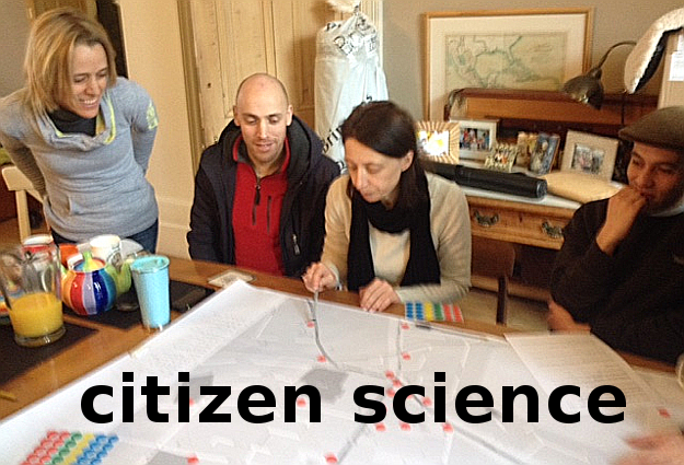 Starting a citizen science programme in Lewisham to measure air pollution, 2015